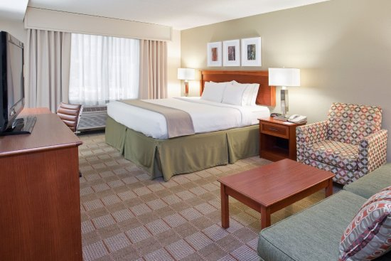 Holiday Inn Express Indianapolis Downtown City Centre: King Bed Guest Room