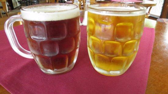 Aldergrove, Canada: Craft Ales on tap