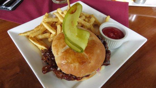 Aldergrove, Canada: Pulled Pork Sandwhich