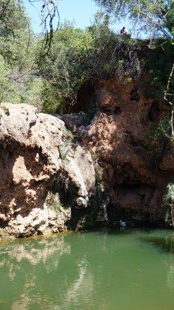 Pego Do Inferno: La cascada seca y el cisne