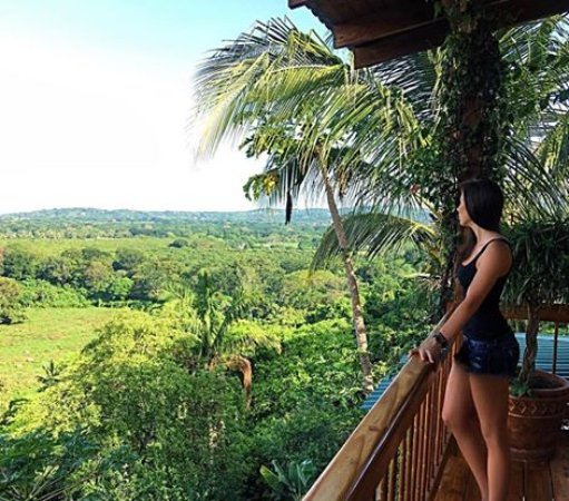 Costa Rica Yoga Spa: Enjoying the view from suite