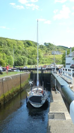 Argyll and Bute, UK: Seehafen in Crinan