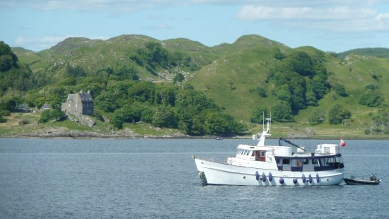 Argyll and Bute, UK: Ausblick in Crinan