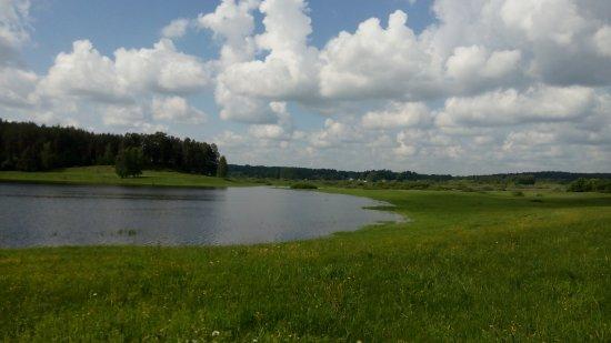 Пушкинский Заповедник: То ли небо в озёра упало...