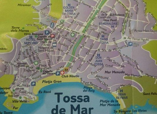 tossa de mar carte _20160615_110332_large.   Picture of Golden Bahia De Tossa