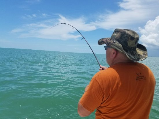 Quality Backwater Fishing - Private Charters: Beautiful day today with Captain Hector!