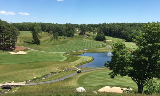 Fisherman's Wharf Inn: Boothbay Harbor Country Club - view from the clubhouse