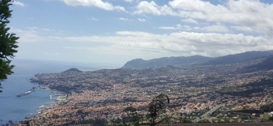 Casa Velha do Palheiro: view of funchal from the hotel grounds