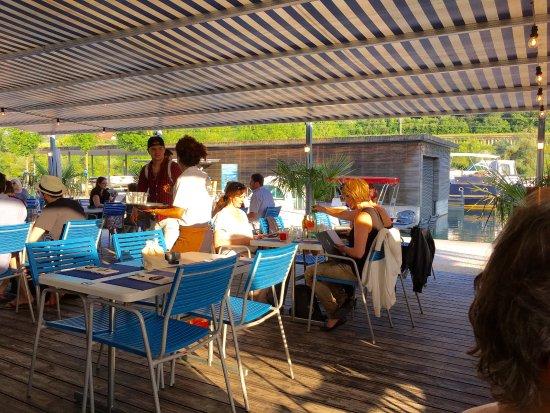 La terrasse couverte - Bild von Pier 11, Solothurn - TripAdvisor