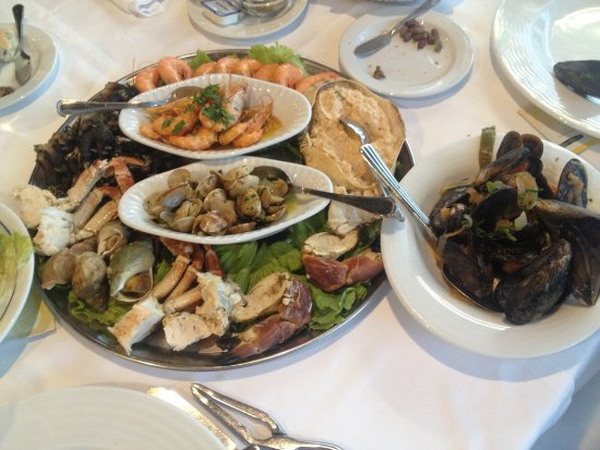 Baia do Peixe: One of the most wonderful seafood variety I've ever had....
