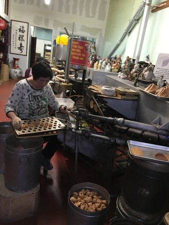 Chinatown: fortune cookie factory