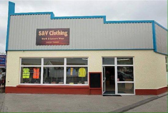 Newcastle Emlyn, UK : S & V Clothing