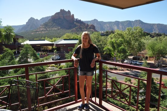 Sedona Motel Porch View