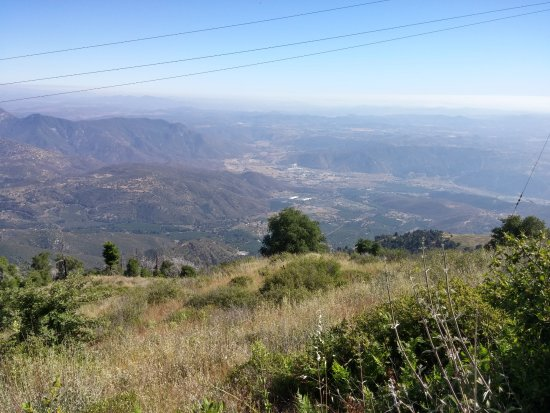 Palomar Mountain, Kalifornien: View!
