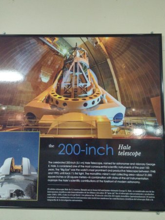 Palomar Mountain, Californien: Hale Telescope Info