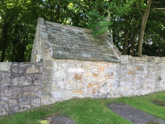 Fife, UK: The Watch House from the graveyard