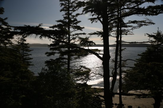 Middle Beach Lodge: Secluded with a gorgeous view!