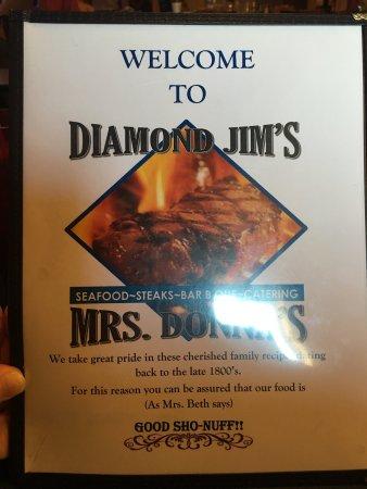Livingston, AL: Diamond Jim's & Ms Donna's