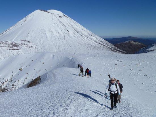 Adventure Outdoors: Volcanic Tours in Winter Tongariro Alpine Crossing