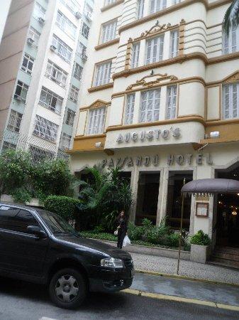 Augusto´s Paysandu Hotel: Frente do hotel