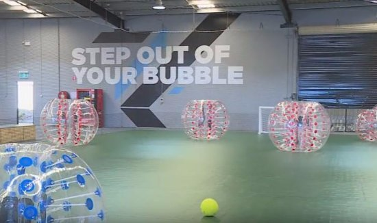 Bubble Soccer - Picture of Bounce Inc  Gold Coast, Burleigh Waters