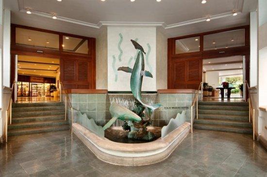 Ilikai Hotel & Luxury Suites: Ilikai Hotel And Suites Lobby Entrance