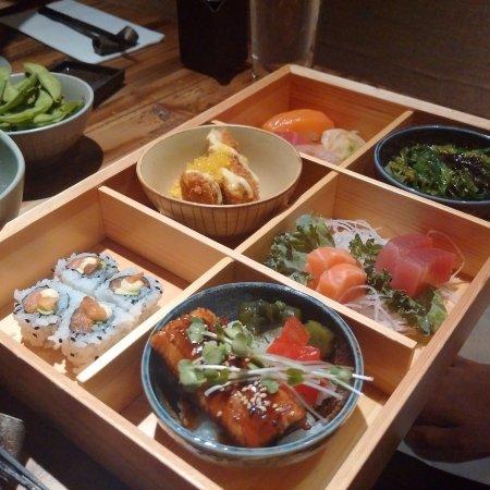 Bento Box Picture Of M Sushi Durham Tripadvisor