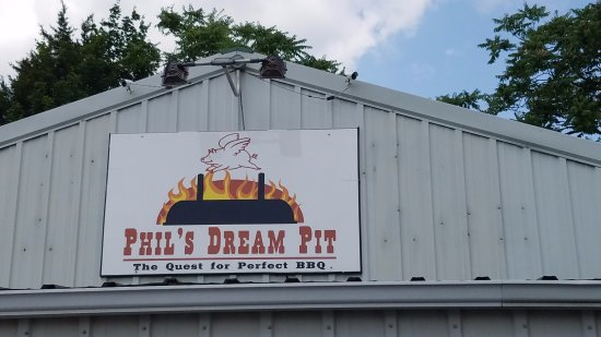 Phil's Dream Pit: Easy to miss the sign, so look closely!