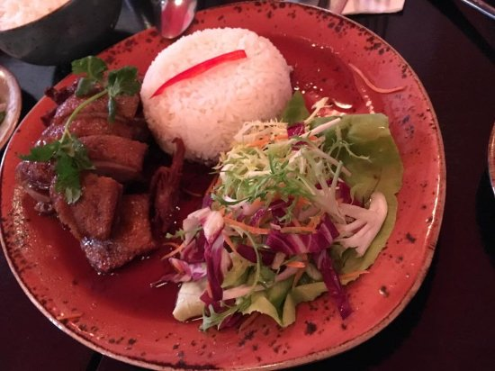 Kin Khao Thai Restaurant: Duck dish with rice
