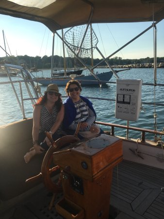 Witch of Endor Sailing Charters: Sunset sail this evening. Perfect host, boat and company.