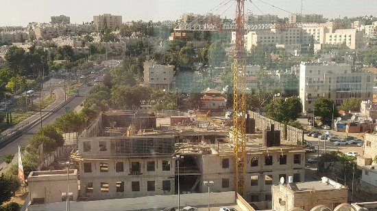 Grand Court Hotel: Ask for a room with best view and this is what i go a construction site.