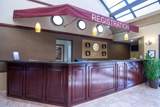 Comfort Inn & Suites Sugarloaf-Suwanee : Front desk