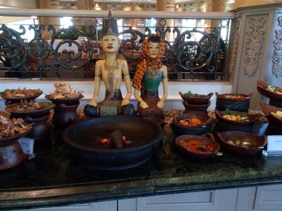 Pavilion Restaurant: Aneka sambal