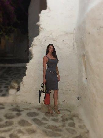 Mykonos Town, Greece: Οδός Ματογιάννη