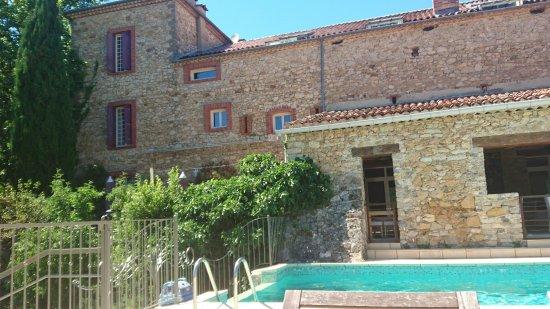 Saint-Andre-de-Bueges, Prancis: Paysage époustouflant