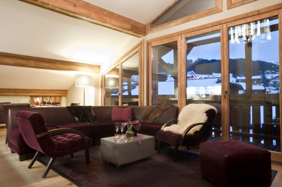 Chamois D'Or Hotel & Spa: Penthouse apartment