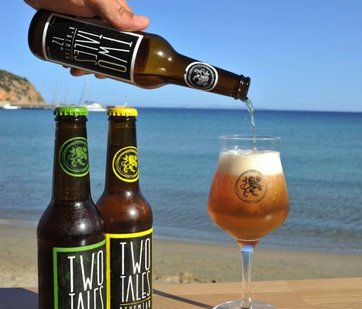 Platis Yialos, Greece: The refreshing Czech small-batch craft beers of Two Tales, exclusively imported in Greece for us