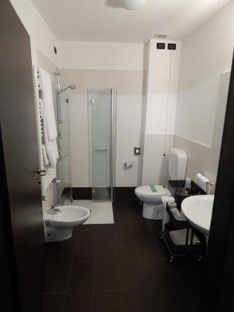 Hotel Villa Pannonia: Wet room