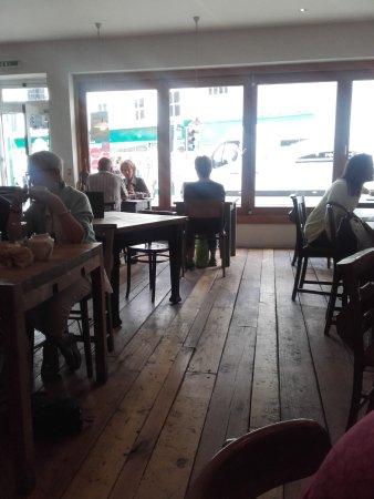 Axminster, UK: Inside River Cottage Canteen
