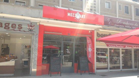 Mozz'Art Pizza : Devanture