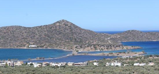 Elounda Residence: View from balcony