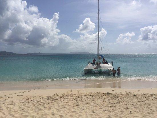 Caribbean Sea Adventures: Our Buck Island stop.