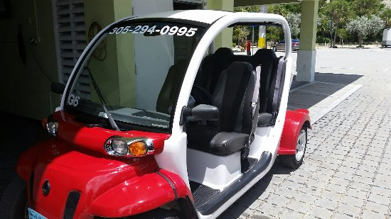 4 seat electric car picture of conch electric cars of key west rh tripadvisor com