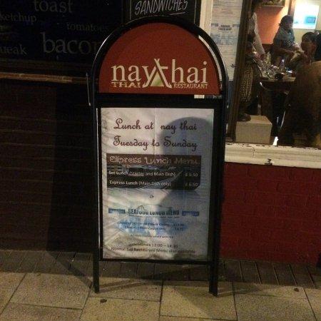 Nay Thai: Naythai, St James Road.