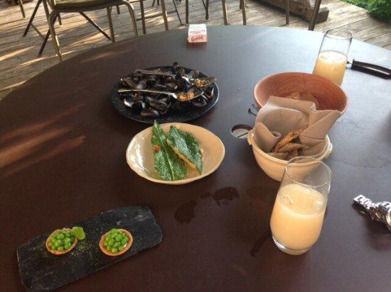 Correncon-en-Vercors, ฝรั่งเศส: Accompagnement de l'aperitif