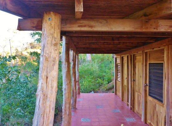 Las Mananitas: Bathrooms with a view