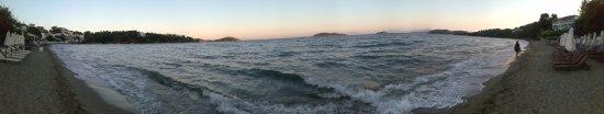 Megali Ammos Beach: the beach