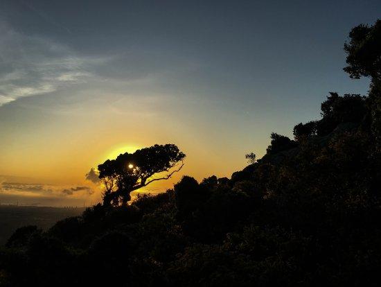 Villa San Pietro, Italia: Romantische Sonnenaufgänge