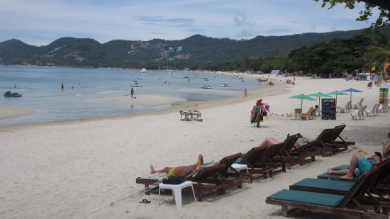 Baan Chaweng Beach Resort & Spa: Great view of the beach