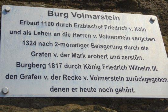 Wetter, Γερμανία: 1100 bis 1324 Vorposten der kölner Erzbischöfe